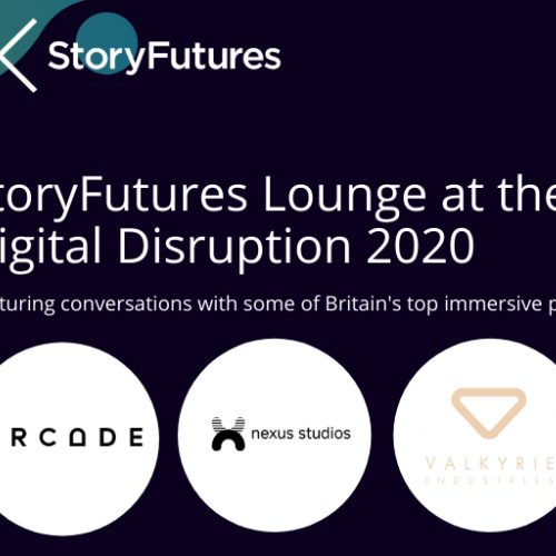 StoryFutures at the Festival of Digital Disruption 2020