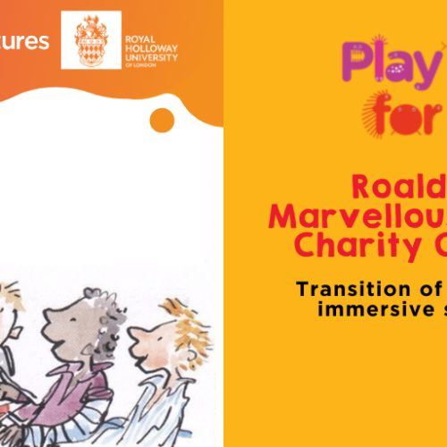 StoryFutures & Roald Dahl's Marvellous Children's Charity: Rare Disease Day 2021