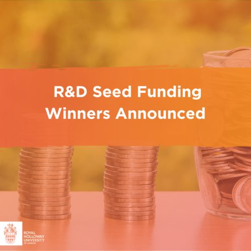 Introducing the R&D Seed Funding Award Winners