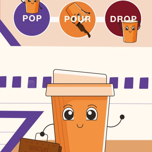 Pop, Pour, Drop. How StoryFutures and Heathrow made virtual recycling a reality.