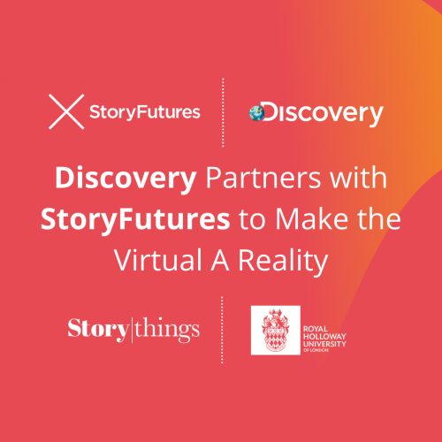 Discovery Partners with StoryFutures to Make the Virtual A Reality